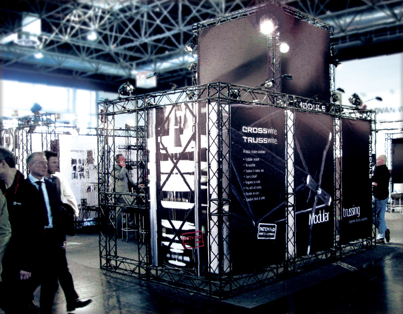 X-20 TRUSS Messestand