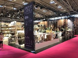 Exhibition made of modular