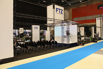 Exhibition stand and displays