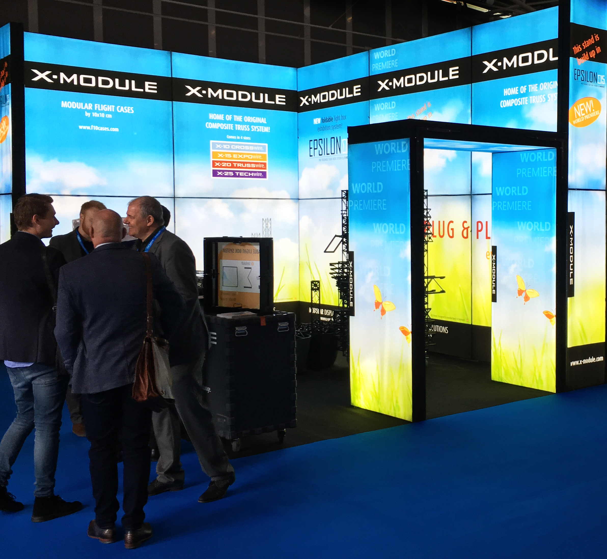 Epsilon15 Messestand