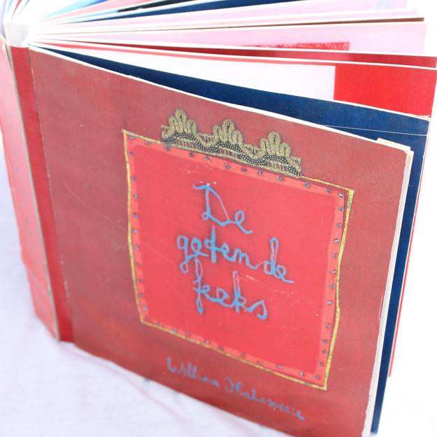 Pop-up boek 'De Getemde Feeks'. Shakespeare voor kids.