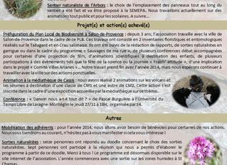 Newsletter n°2 (nov-déc 2014)