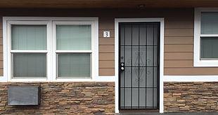 Secured Front Door