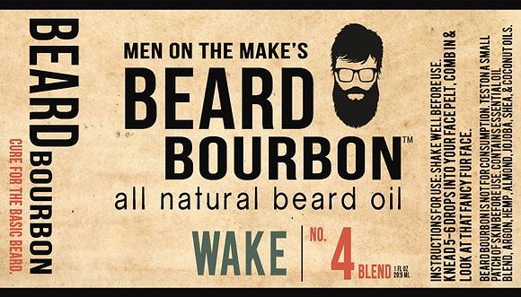 BEARD BOURBON® | WAKE 1 OZ BOTTLE