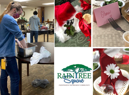 Special Efforts Make Raintree Home