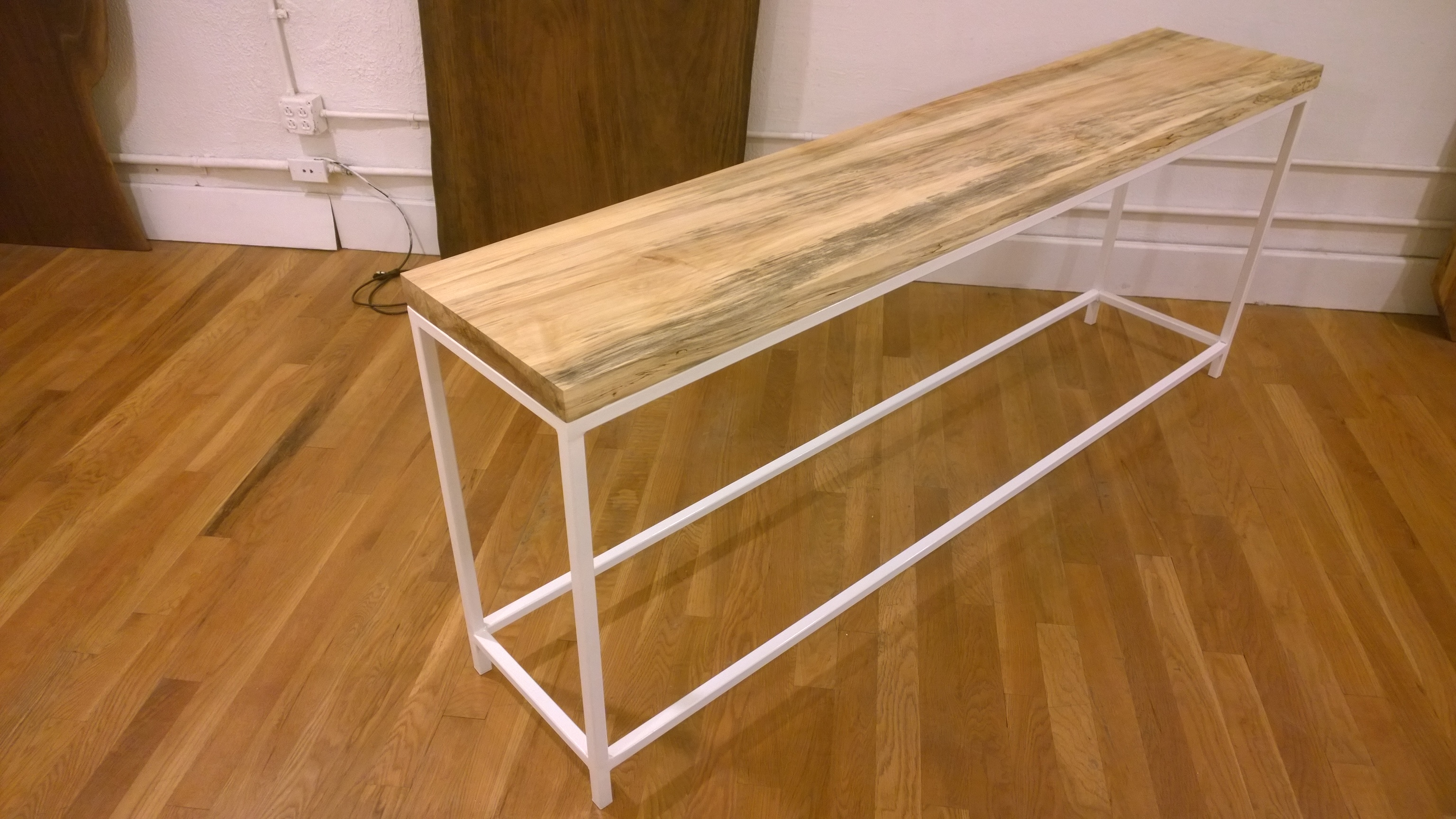 Spalted Maple Sofa Table