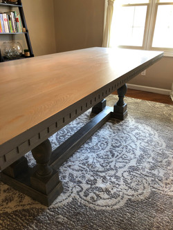 French Oak Table