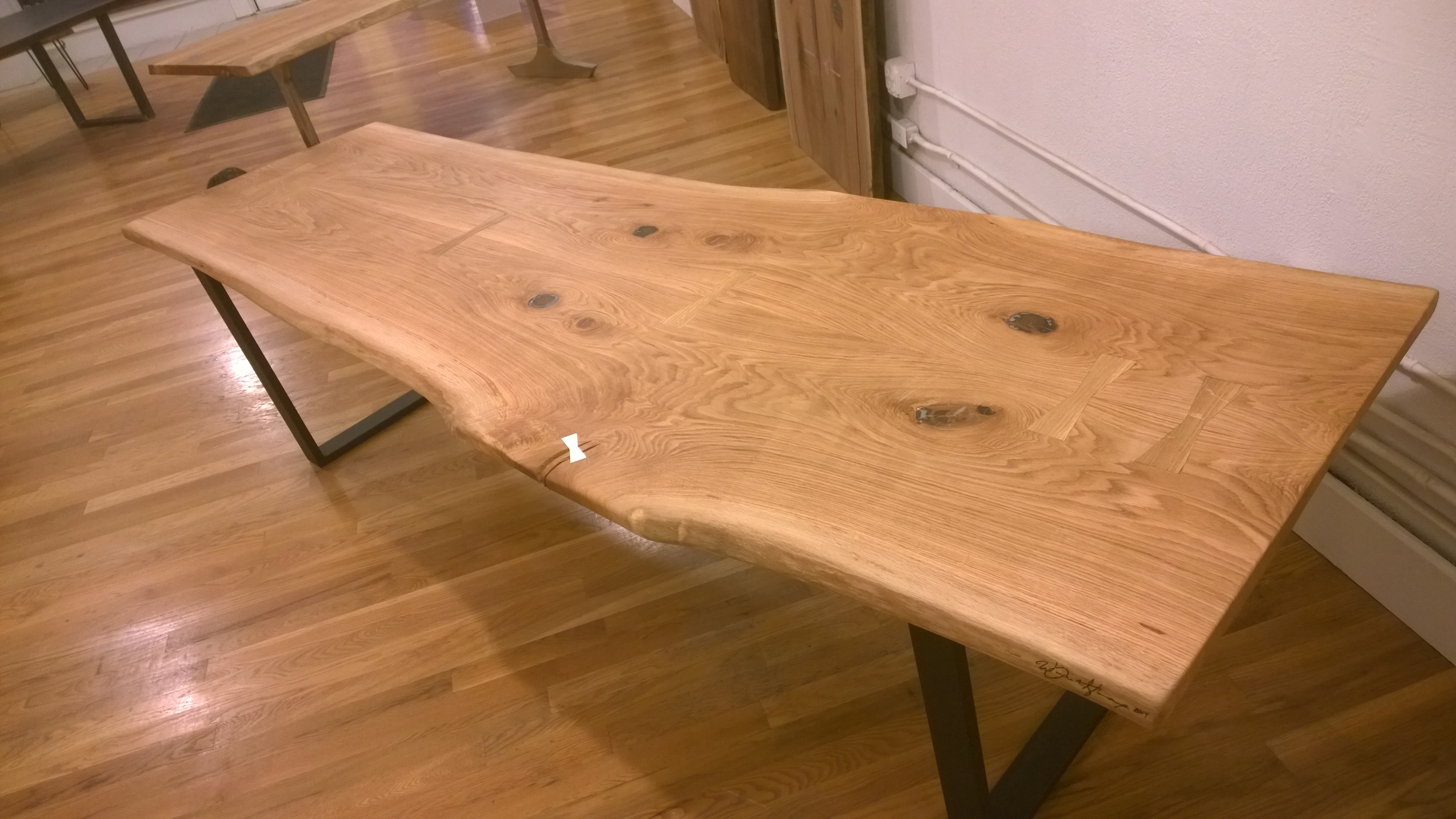 Book match Oak ConferenceTable