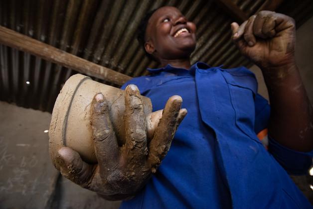 Traditional Pottery - Botswana