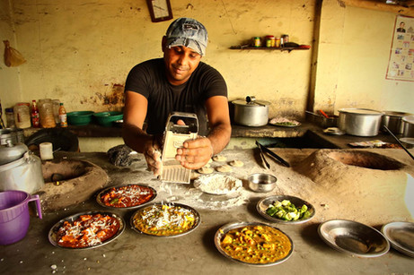India Truck Stop Street Food