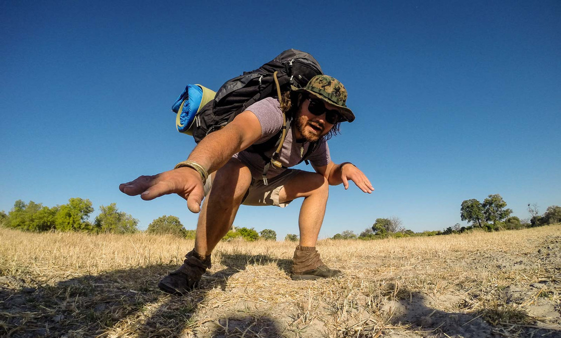 4 day unsupported traverse of Chiefs Island, in the heart of the Okavango Delta