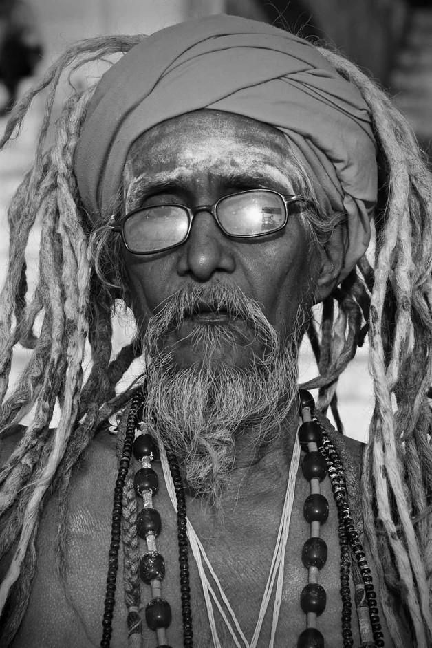 India Varanasi Elder