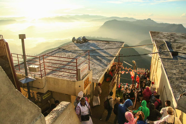 Sri Lanka Mountaintop Temple