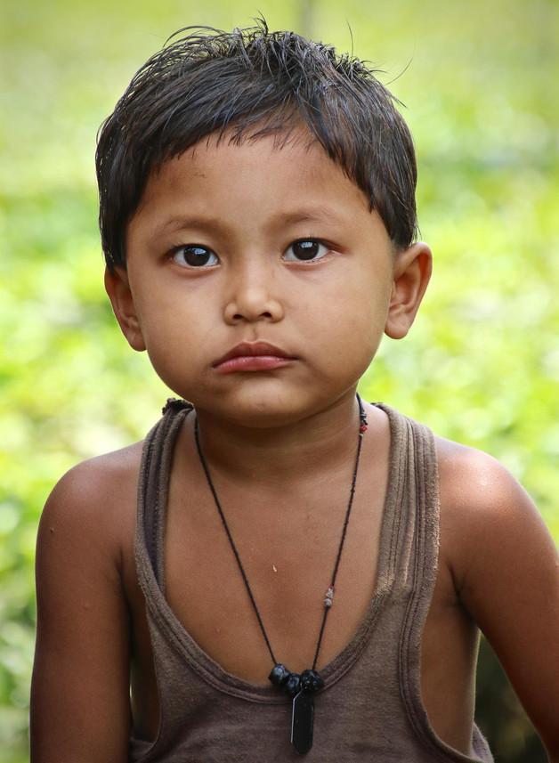 India Tea Plantation Boy