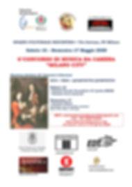 Locandina Concorso Musica da Camera 2020