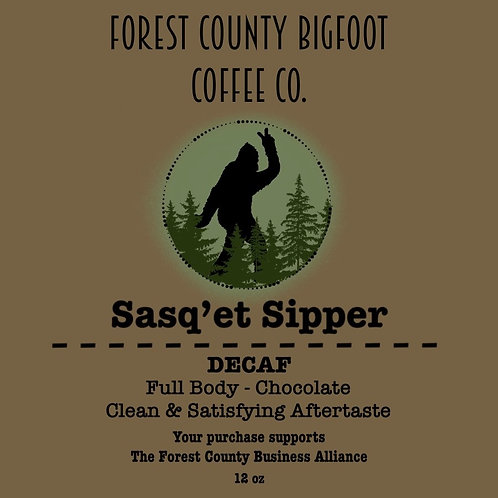 Bigfoot coffee Decaf Sasq'et Sipper