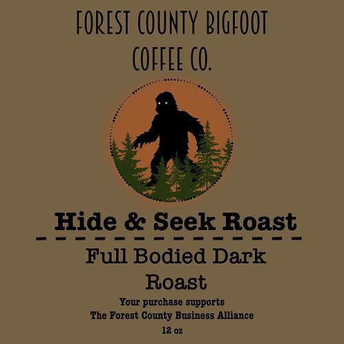 Bigfoot coffee Hide & Seek Roast