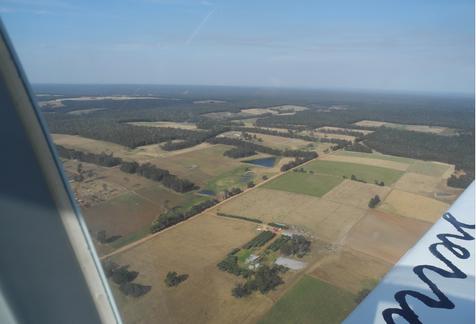view from tecnam