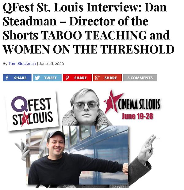 We Are Movie Geeks interview with Dan Steadman