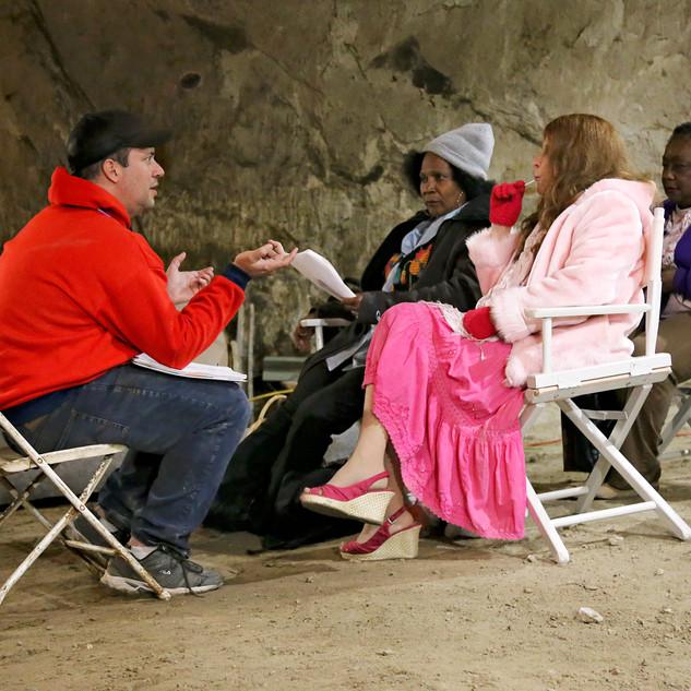 Dan directing actresses in mine.JPG