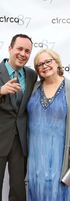 Director Dan Steadman and his mom Diane Nicholson
