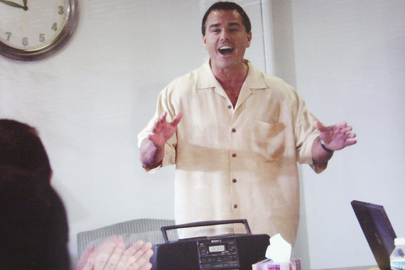 Christopher Knight of The Brady Bunch in The Room