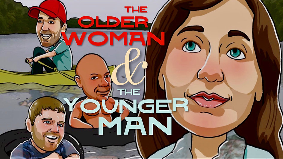Adam Wainwright and Jackie Manker in Amazon Prime's Older Woman and the Younger Man