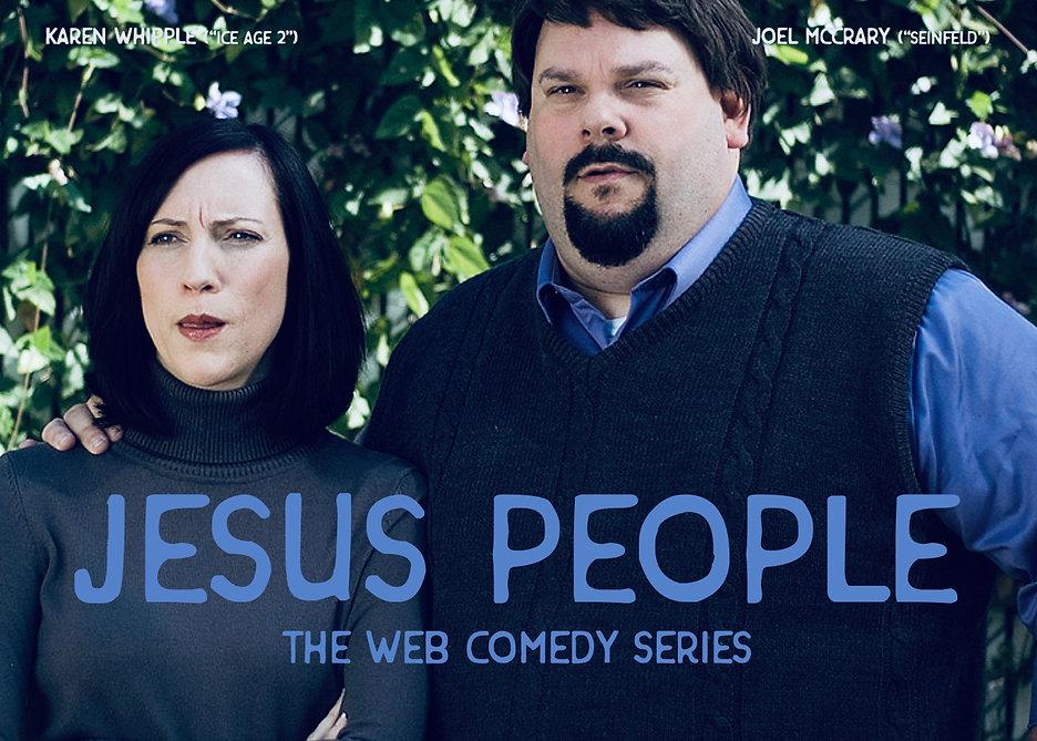 Karen Whipple and Joel McCrary in Jesus People Web Series.jpg