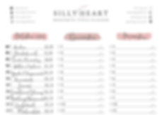 Silly Heart Period Planner Printable - E
