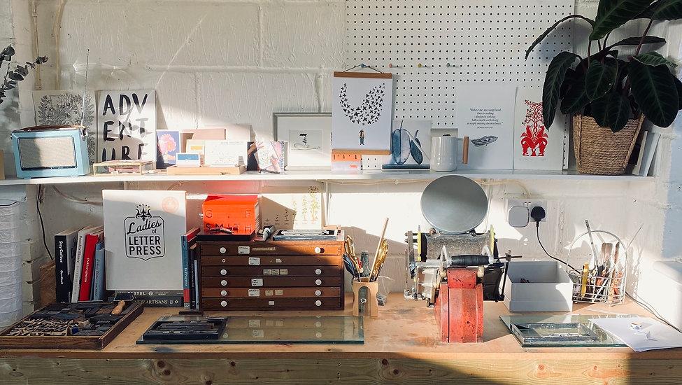 Silly Heart Workshop Sunny Deskspace Let