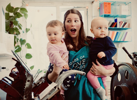 Juggling Small Business + Motherhood