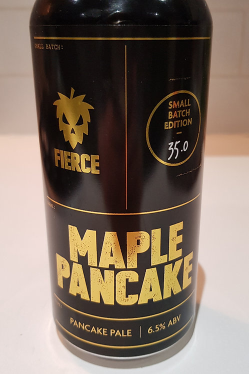 Fierce, Maple Pancake. (Vegan).