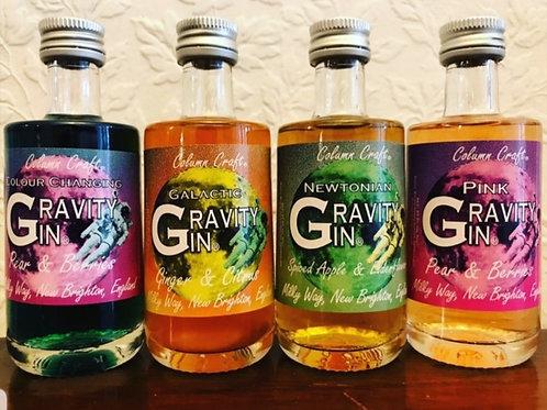 Gravity x4 Mini Set of Gins.