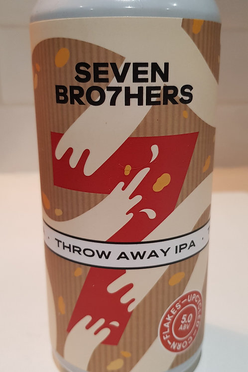 Seven Bro7hers, Throw Away IPA.