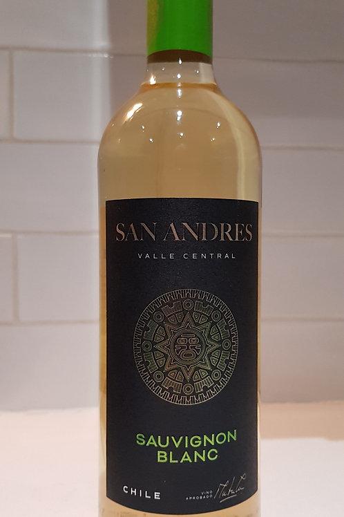 San Andres, Sauvignon Blanc.