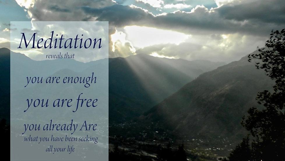 Online Meditation Teacher Training and Meditation Quotes by Sampriya