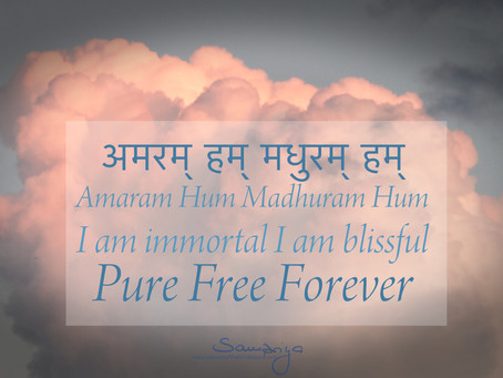 The Mantra of Mantras bestows freedom from the torture of the mind