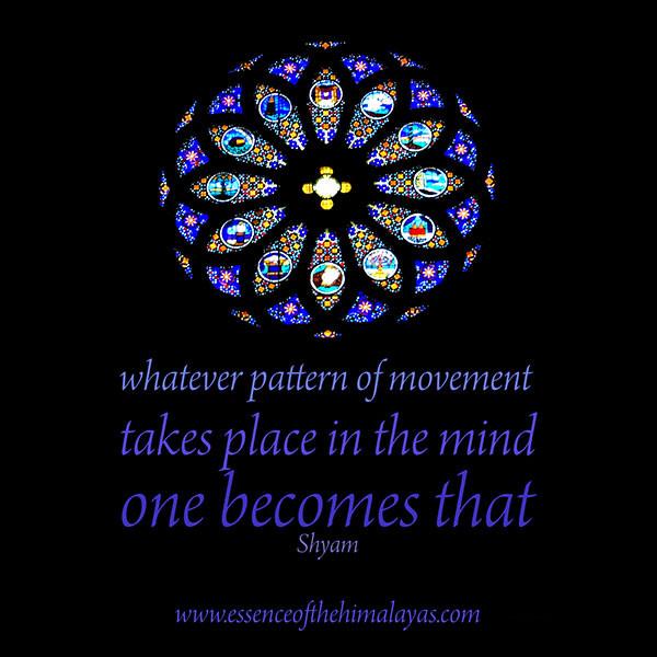 Meditation Quote by Sampriya/Marie-Lou Kuhne Millerick - Meditation Teacher and Mentor
