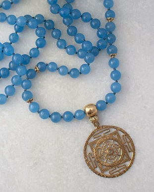 Infinity Mala by Heart of all Hearts. An exquisite Mala to support your Meditation and Chanting of Mantra