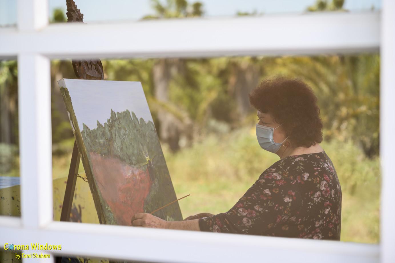 שרה בוגן- האישה בחלון