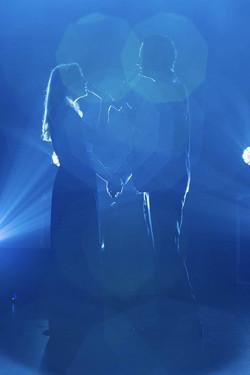 צילום מופע צחי סיטון וכוכבת ברודווי קארי סיינט לואיס