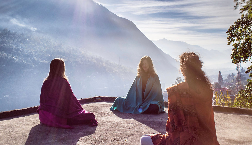 Sampriya offers Online Meditain Training live from the Himalayas in India