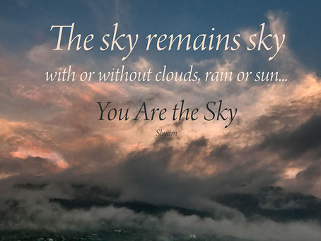 You Are the Sky...