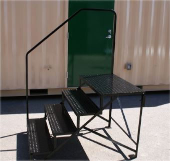mobile home steps metal