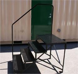 mobile home steps metal