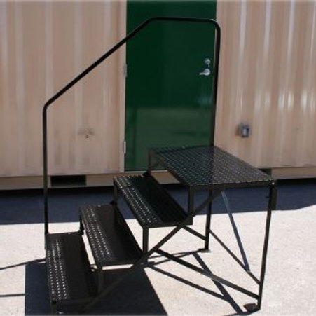 "32"" STEEL, MOBILE HOME STEPS"