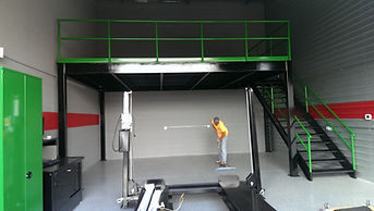 garage mezzanine, garage storage
