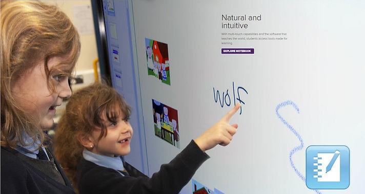 SMART Board en el jardin de niños