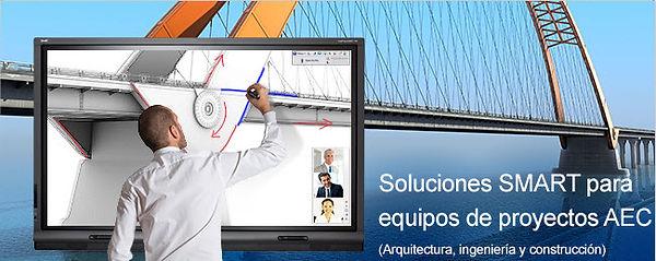 soluciones smartboard para Arquitectura