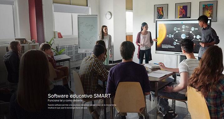 SMART Board en el aula de Universidades